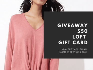 GIVEAWAY: LOFT Gift Card