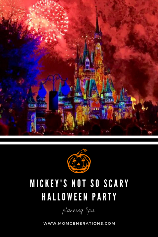 Mickey's Not to Scary Halloween Party