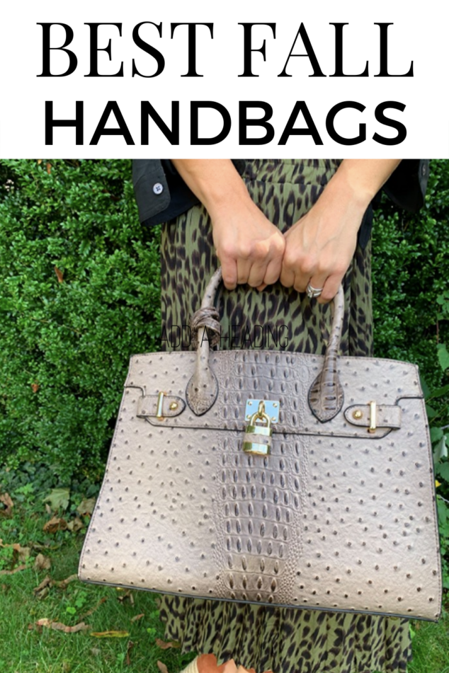 Best Fall HAndbags