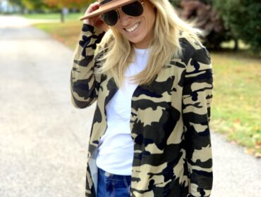 Camo Cardigan Options for Fall and Winter Fashion