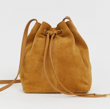 Suede Fall Handbag