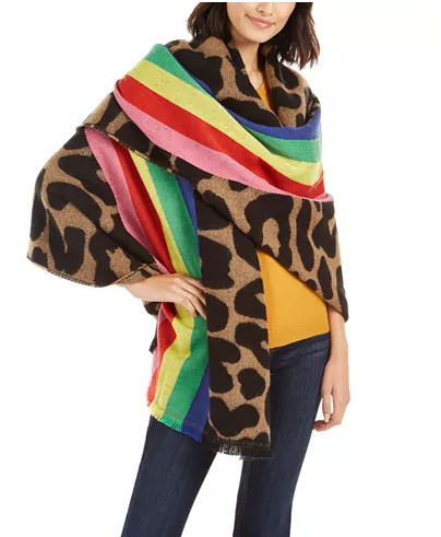 Wild Rainbow Blanket Wrap