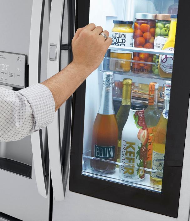LG's newest InstaView™ Door-in-Door® refrigerators