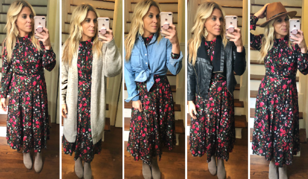 Winter Dresses - How to Style