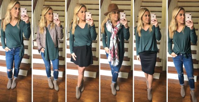BOyfriend Tee - How to Style it 5 Ways