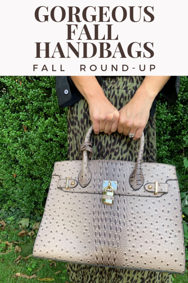 Fall Handbags Round Up