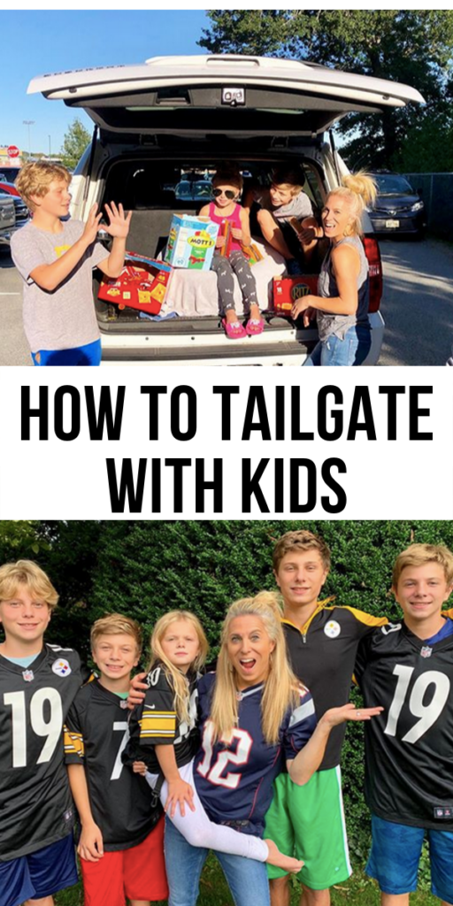 how to tailgate with kids