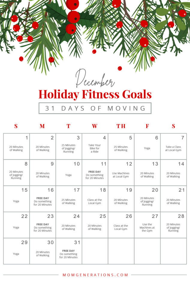 December Fitness Goals