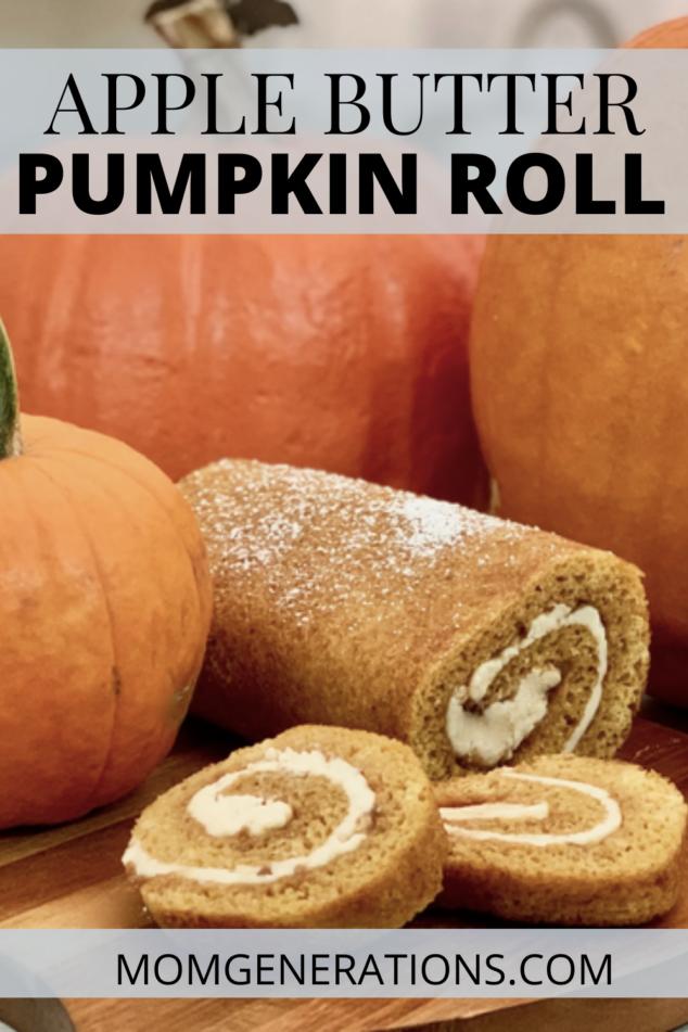 Apple Butter Pumpkin Roll