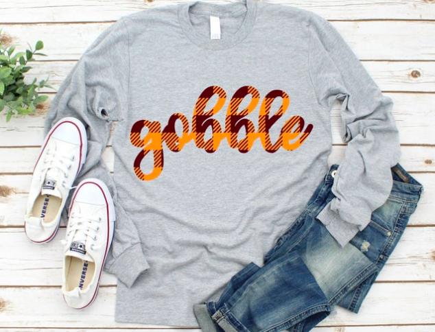Goblle Thanksgiving Day Shirt