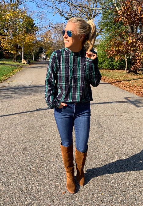 womens plaid shirt for the best style for the winter