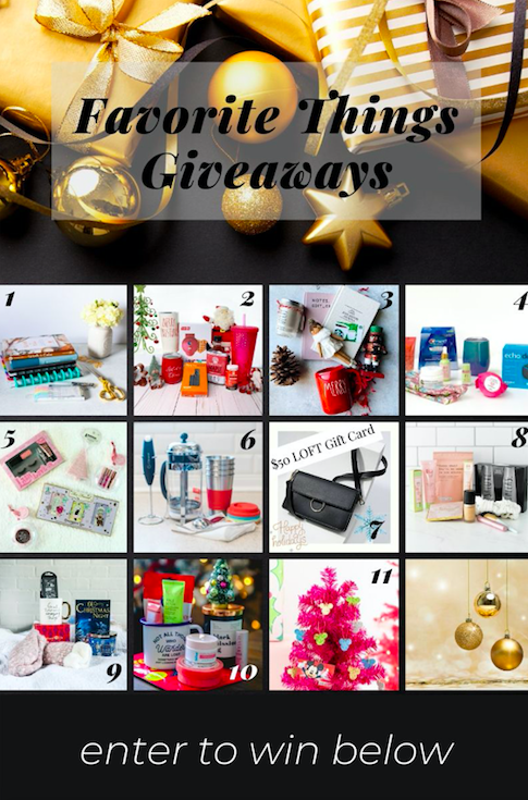 My Favorite Things Giveaway 2019