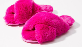Faux Fur Slide Slippers