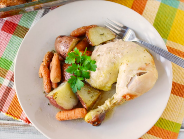 Roasted Chicken with Vegetables Recipe