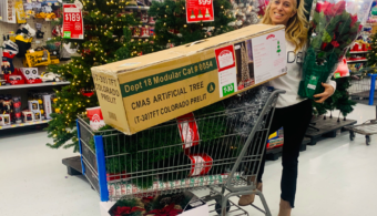 Stocking up for the holidays with Capital One Walmart Rewards Card
