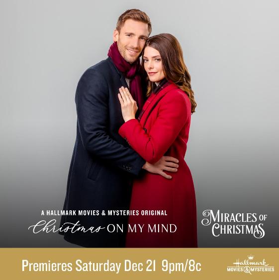 "Hallmark Movies & Mysteries Movie Premiere of ""Christmas on My Mind"" on Saturday, December 21st ..."