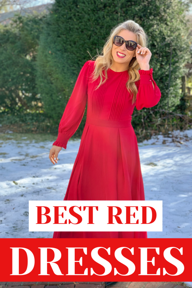 Red Party Dresses for the Holidays