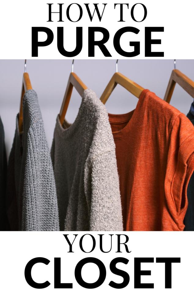 How to Purge Your Closet