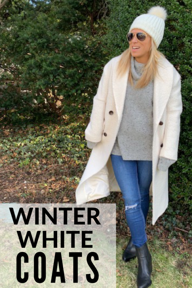Winter White Coat - Fashion Styles for the Winter
