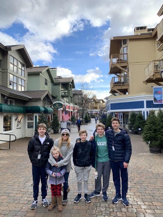 Stratton Village Family Ski Weekend