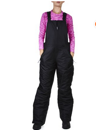 ski trousers - Arctic Quest Women's Water Resistant Insulated Ski and Snow Bib