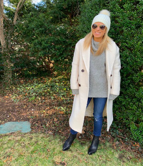 Winter White Coat - Fashion for the Winter