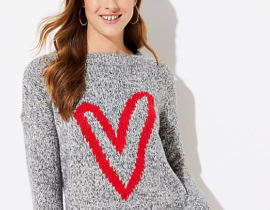 Valentine's Day Clothes - Heart Sweater