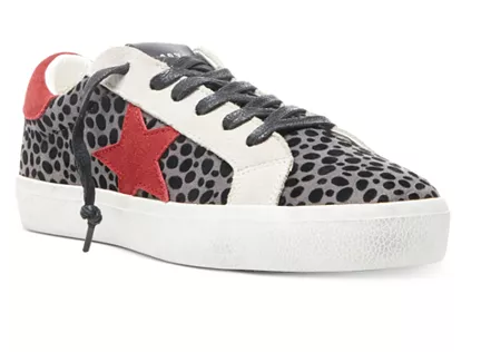 Golden Goose Dupes Steve Madden  Women's Philosophy Lace-Up Sneakers - ON SALE $61.50