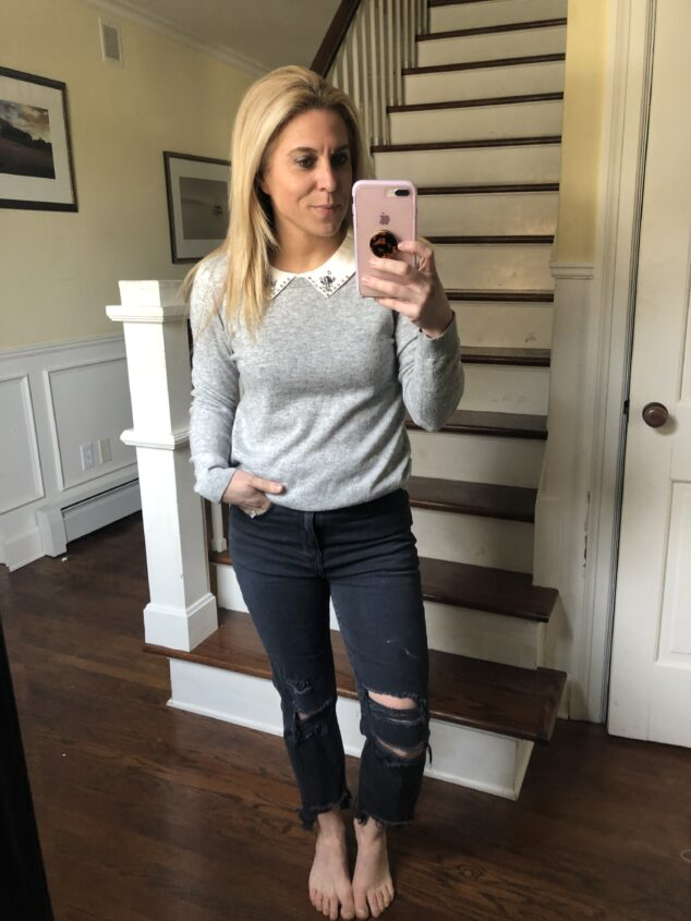 Black Ripped Jeans - 5 Ways to Style