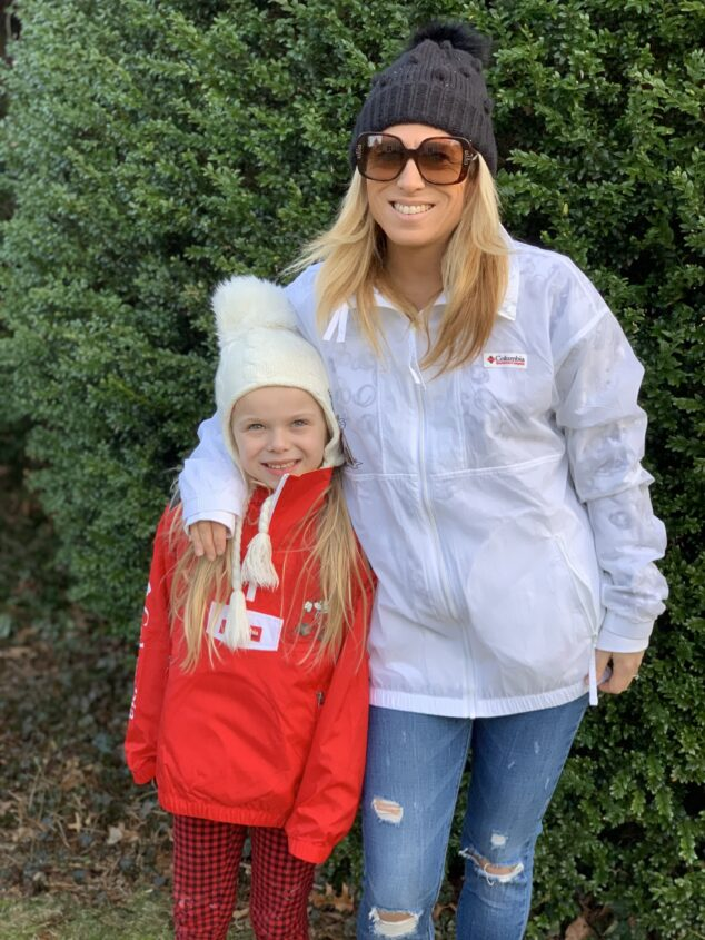 Matching Mommy and Me Jackets
