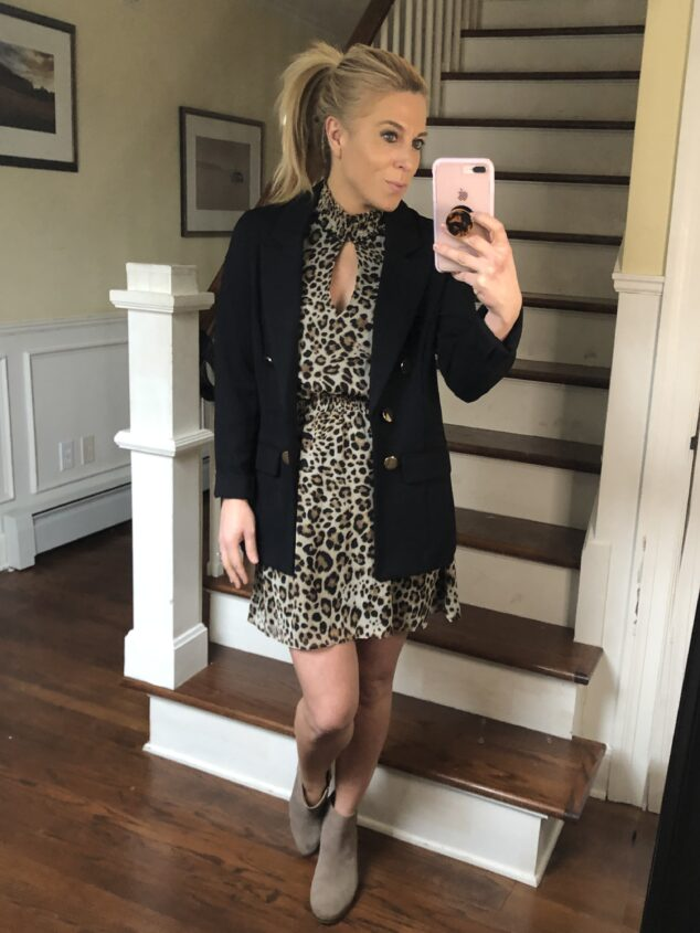 What to wear with a animal print