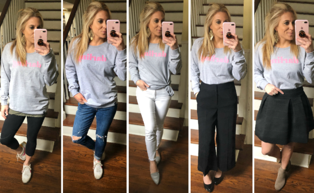Outfits for Sweatshirts