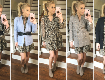 5 ways to wear leopard print dress