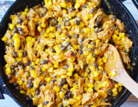 Taco Casserole with Chicken