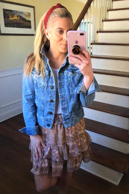 Petite Denim Jacket - 5 Ways to Style