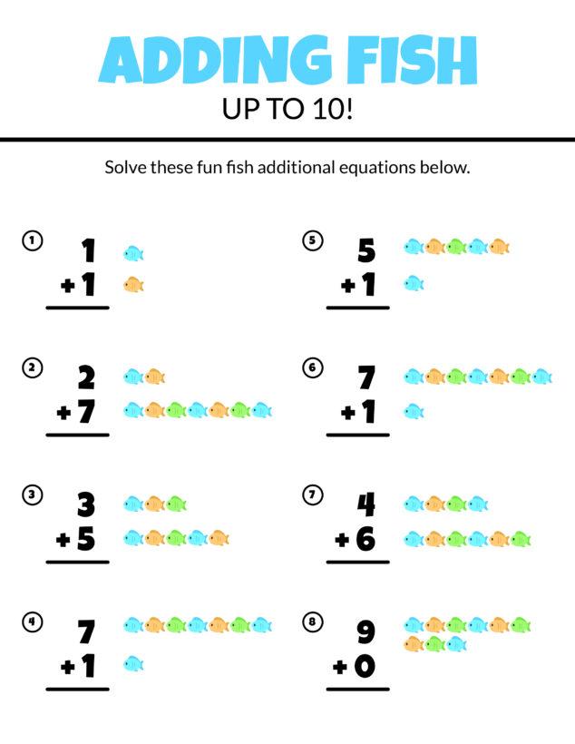 30 Free Addition Worksheets For Grade 1 Kids