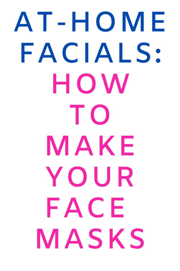 Make Your Own Face Masks
