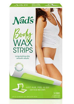 Waxing Supplies - Nad's Body Wax Strips