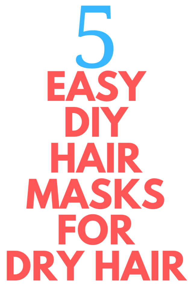 DIY Hair Masks for Split Ends