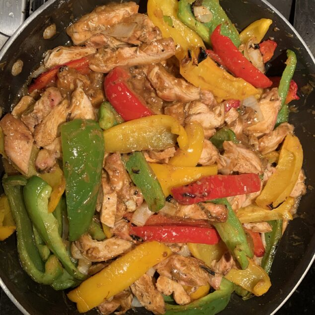 Grilled Chicken Fajitas Recipe