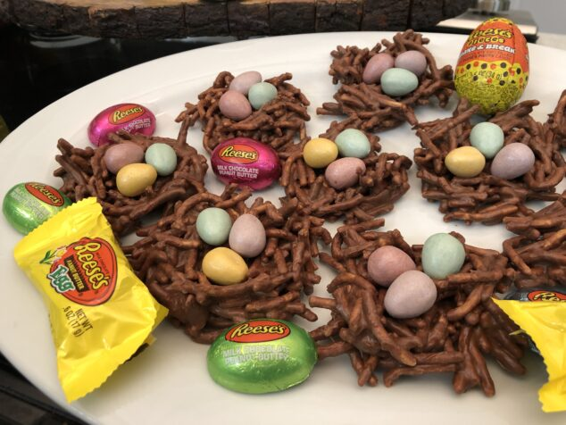 Easter Inspired Desserts from Hersheys