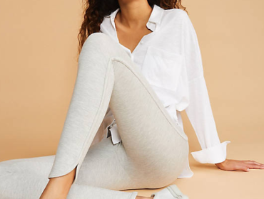 Most Comfortable Work Pants Lou & Grey Curved Ankle Ponte Leggings