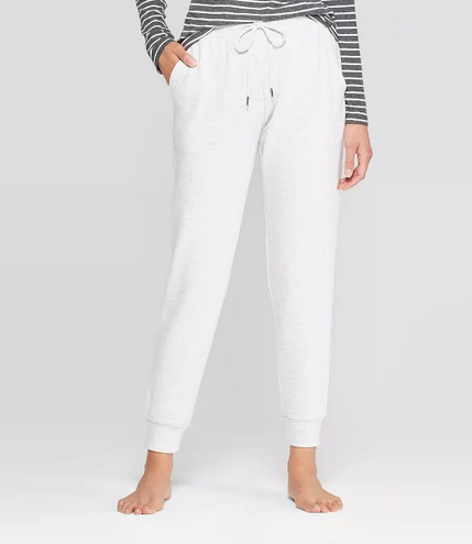 Most Comfortable Work Pants - Women's Beautifully Soft Fleece Lounge Jogger Pants