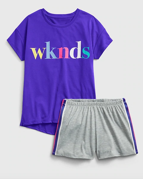 Girls Loungewear Set