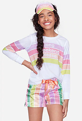 Rainbow Pajama set
