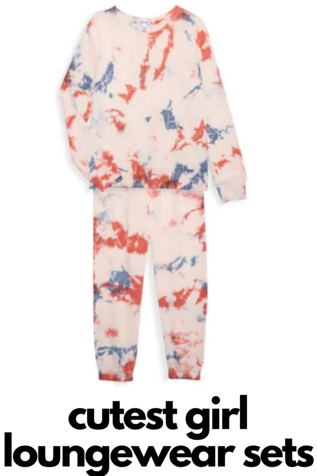 girls loungewear sets