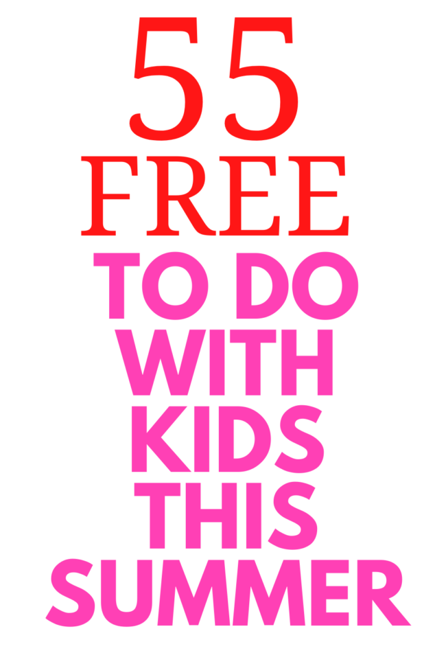 Fun Free Things To Do with Kids