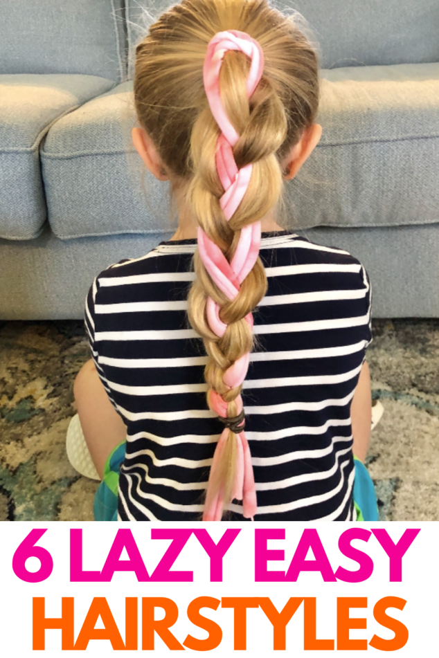 Lazy Easy Hairstyles
