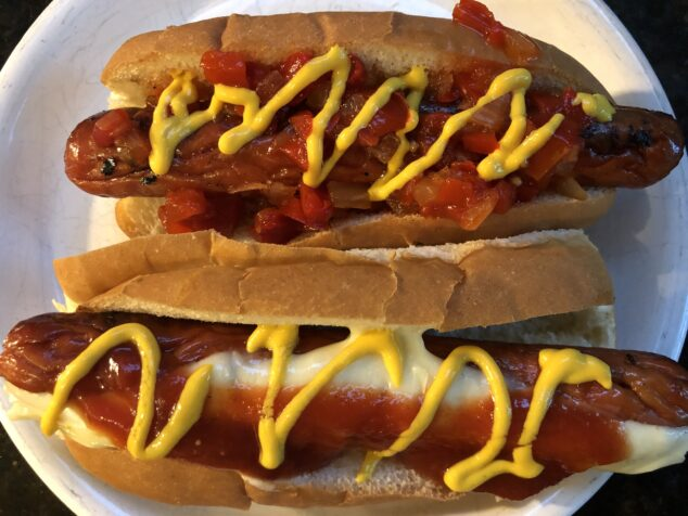 Hot Dog for Family Outing