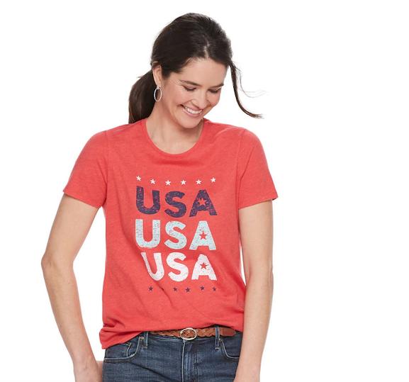 USA tee shirt